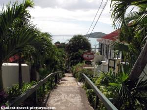 99 steps Charlotte Amalie St. Thomas