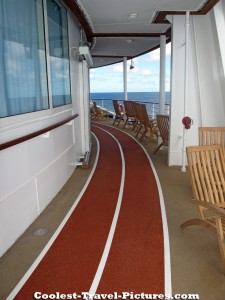 running track on Oasis of the Seas