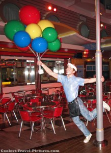 balloon man on oasis of the seas
