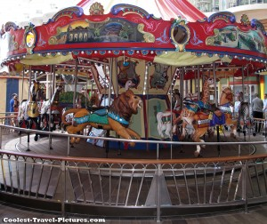 Merry-go-round on Oasis of the Seas